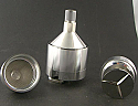 Metal Spice mill large